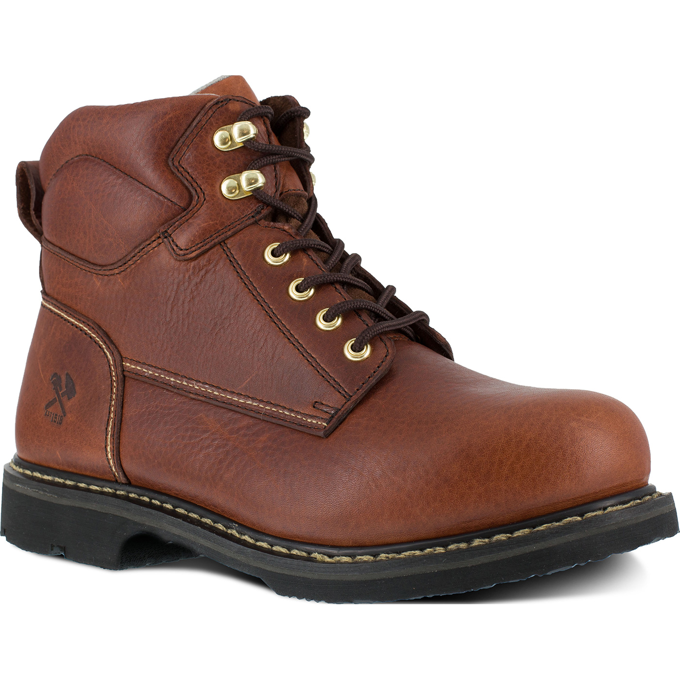 de1bba7a871 Iron Age Groundbreaker Men's 6 inch Steel Toe Electrical Hazard  Puncture-Resistant Work Boot