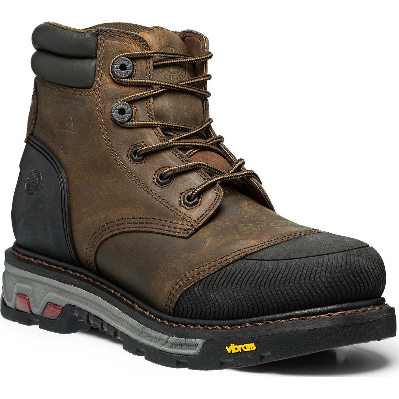Justin Original Workboots Warhawk Composite Toe Puncture