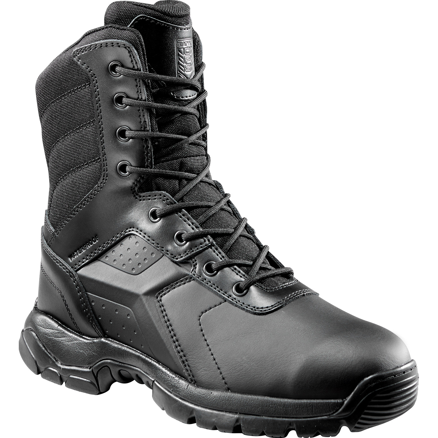 7c5bdb26bdd Battle Ops Men's 8 inch Composite Toe Electrical Hazard Waterproof Zipper  Tactical Boot