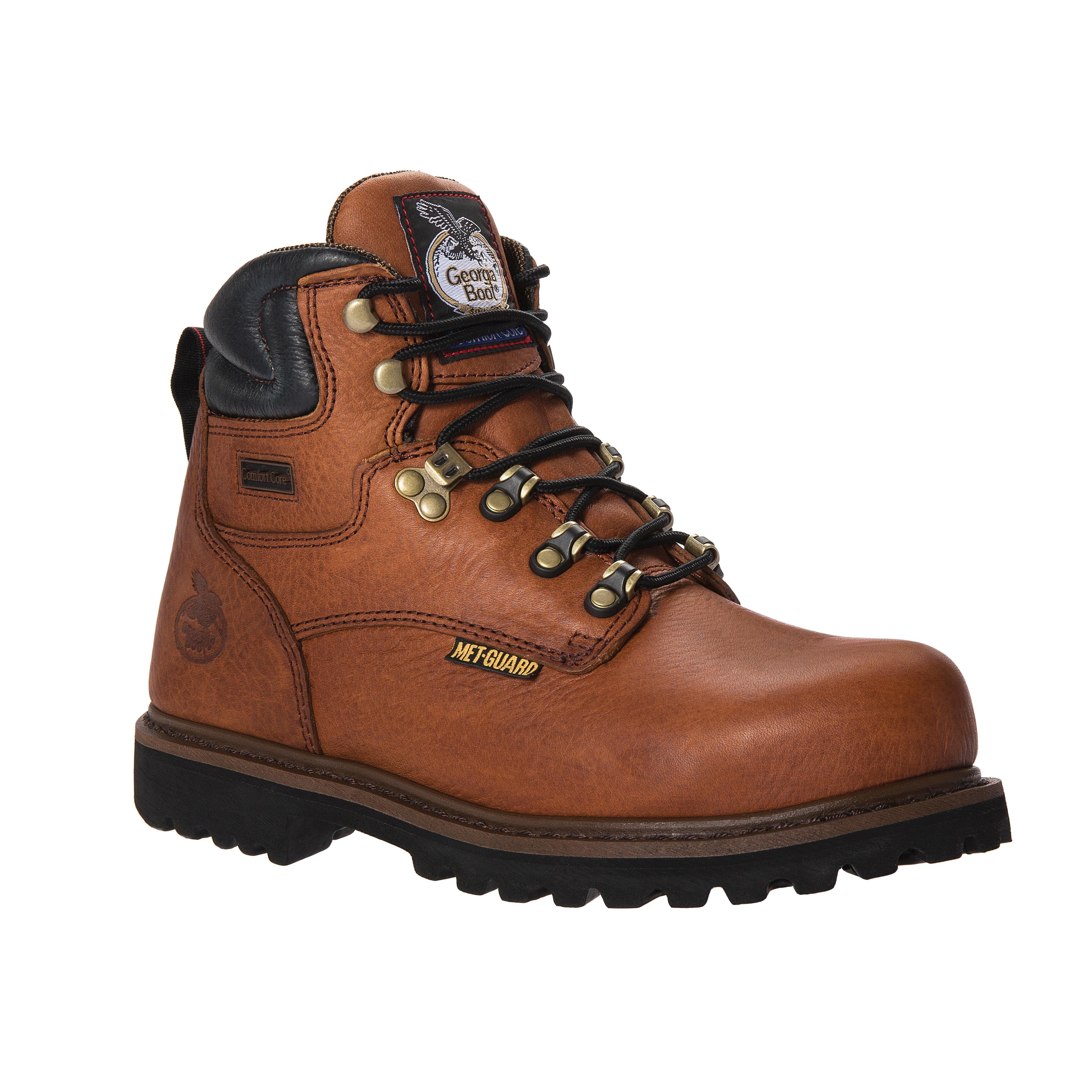 d8d97379e1b Georgia Boot Hammer Internal Metatarsal Steel Toe Work Boot