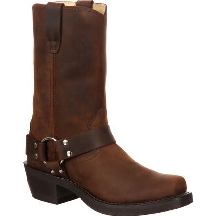 Durango Brown Harness Boot, , large