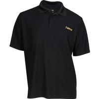 Rocky Logo Short-Sleeve Polo Shirt, BLACK, medium