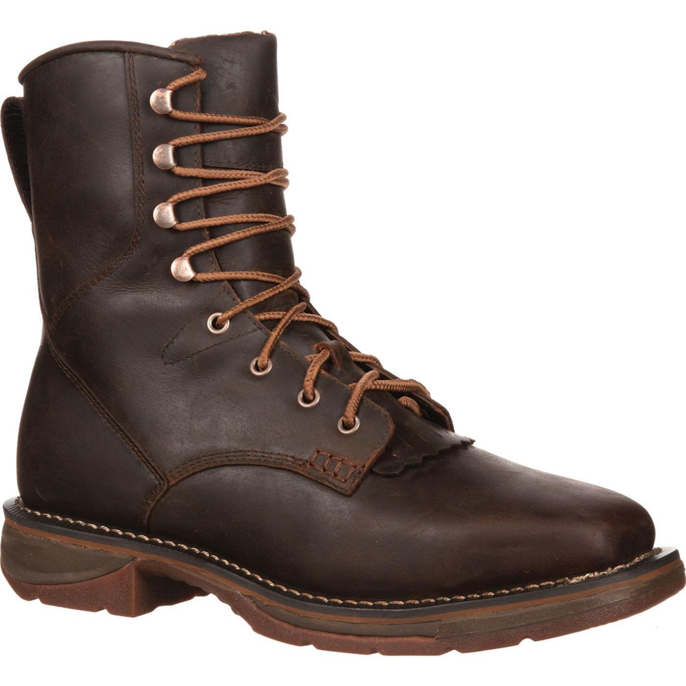 6b451de166f Workin' Rebel by Durango Steel Toe Waterproof Western Lacer Boot