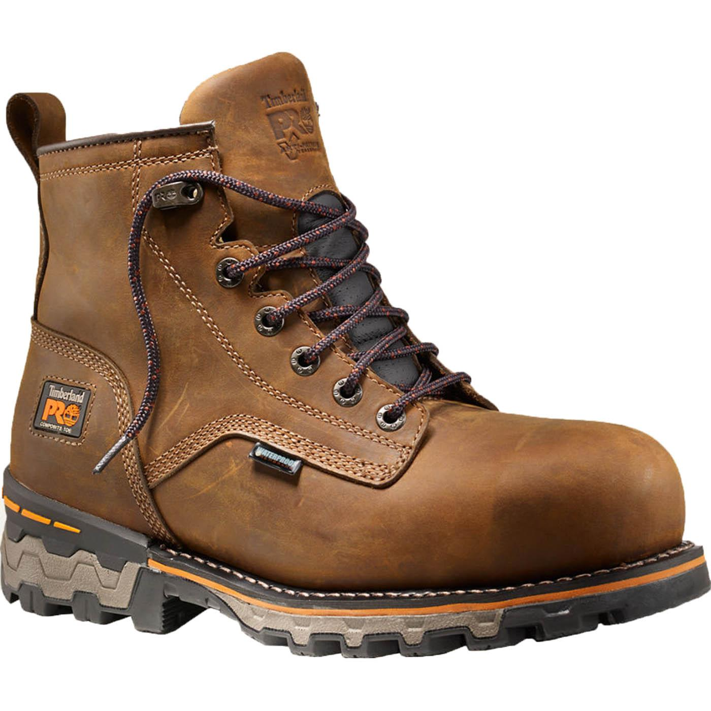 7227f8ad23b Timberland PRO Boondock Composite Toe Waterproof Work Boot