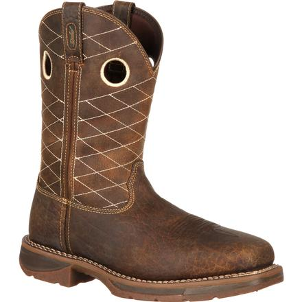 Workin' Rebel by Durango Brown Composite Toe, , large