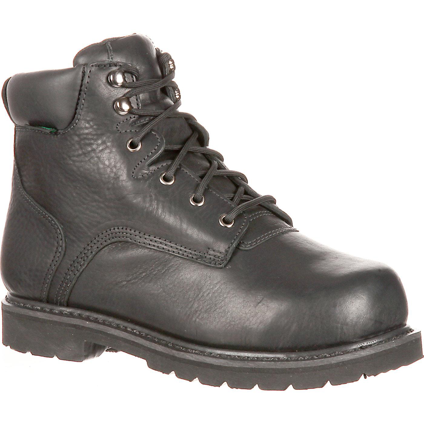 326d52331ca QUICKFIT Collection: Lehigh Safety Shoes Unisex Steel Toe Met Guard  Waterproof Work Boot