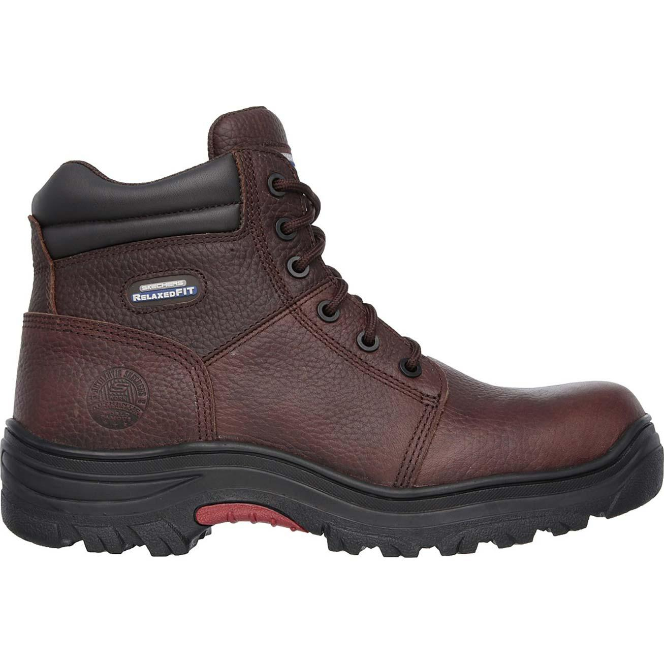 SKECHERS Work Relaxed Fit Burgin Composite Toe Puncture-Resistant ... 3474a1945d8d
