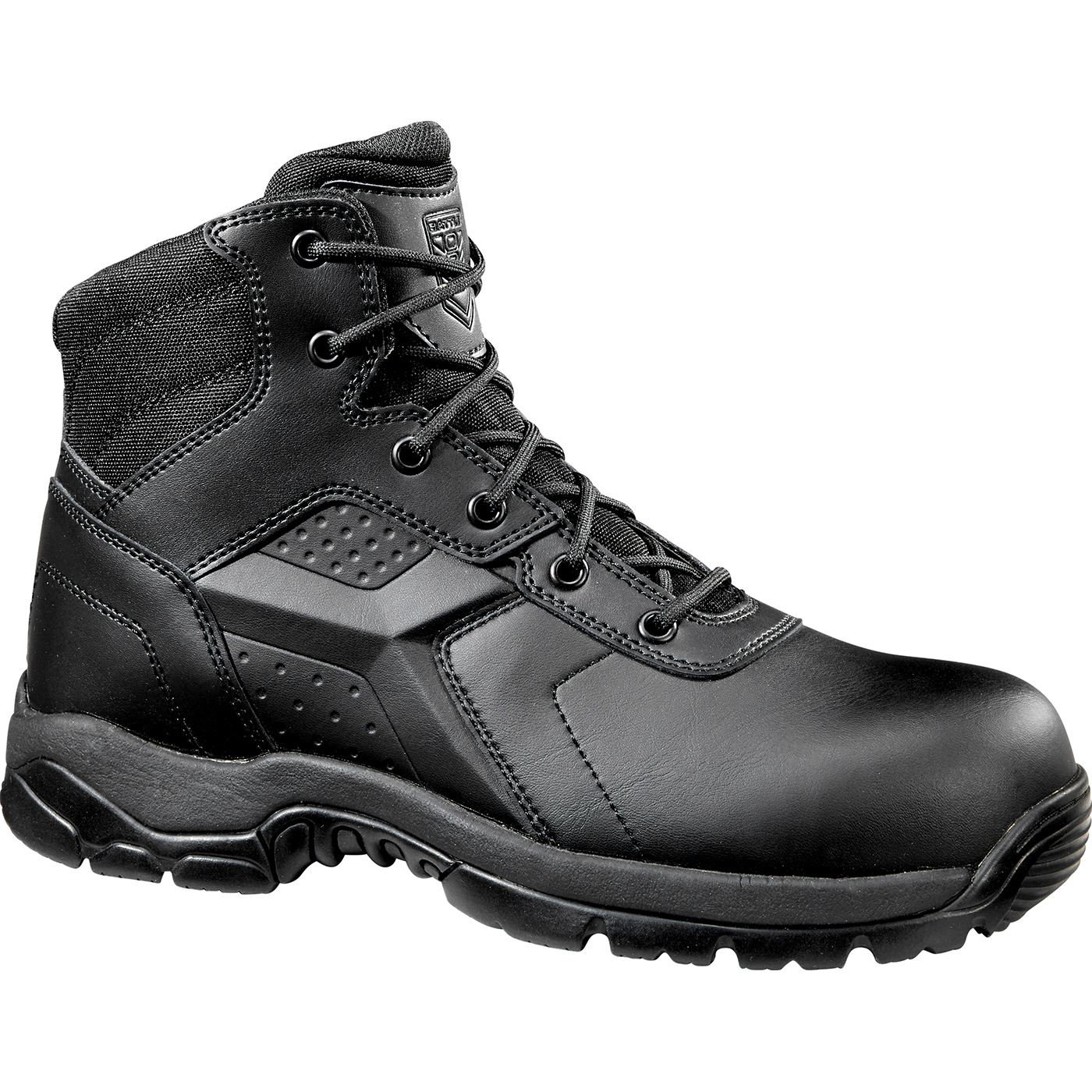 8b762b6ec21 Battle Ops Men's 6 inch Composite Toe Electrical Hazard Waterproof Zipper  Tactical Boot