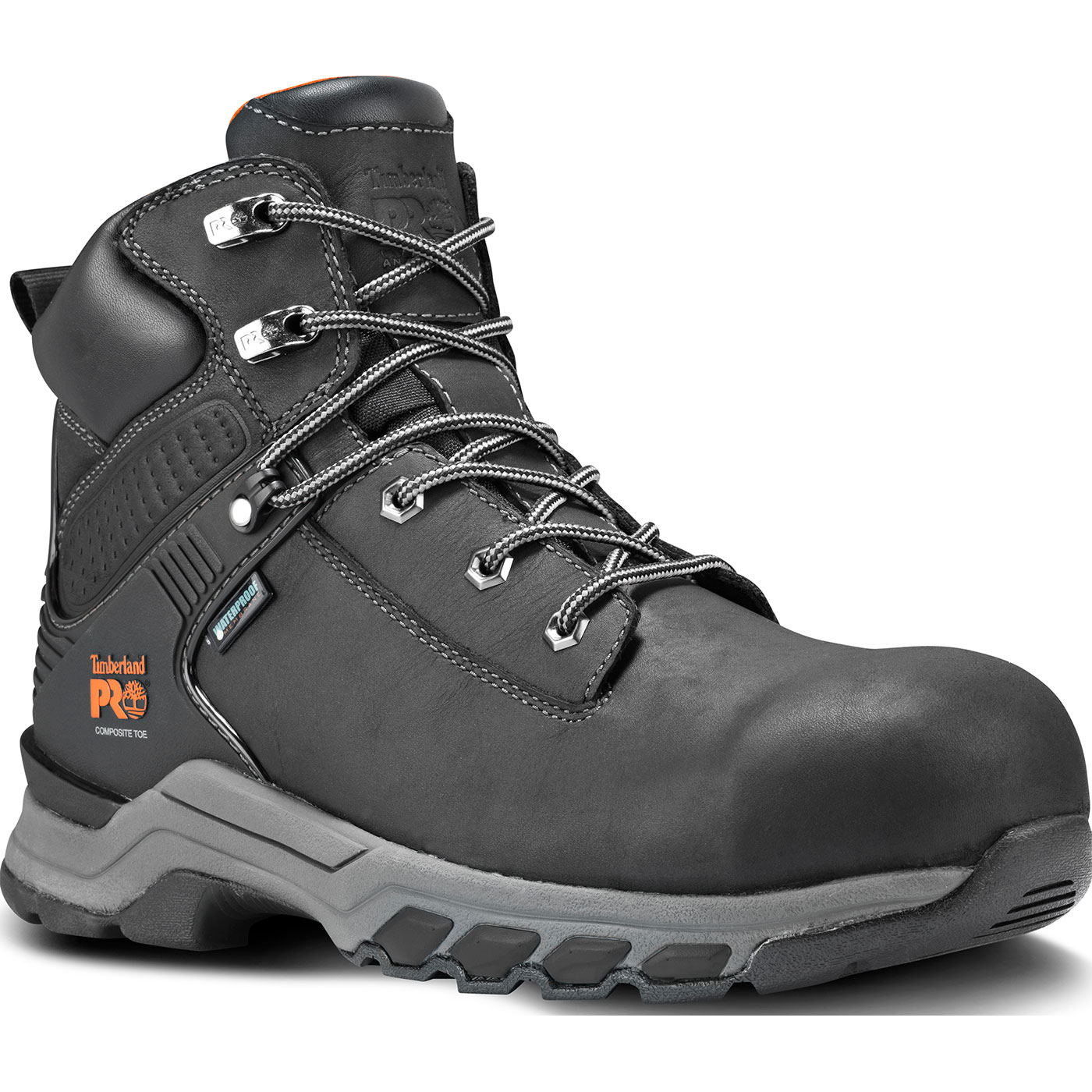 2f5110fdccb Timberland PRO Hypercharge Men's 6 inch Composite Toe Waterproof Leather  Work Hiker