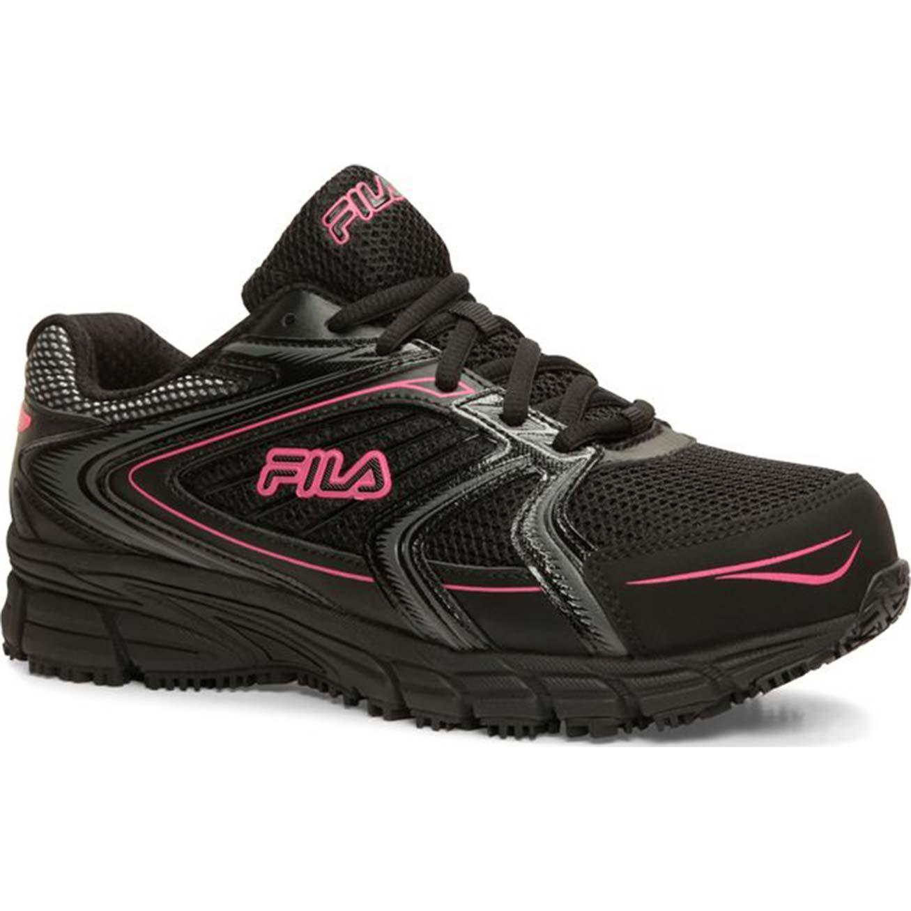Fila Memory Reckoning 8 Women s Steel Toe Slip-Resistant Work Athletic  ShoeFila Memory Reckoning 8 Women s Steel Toe Slip-Resistant Work Athletic  Shoe 4a42314139