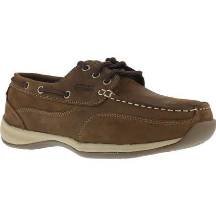 Rockport Works Women's Steel Toe Boat Shoe