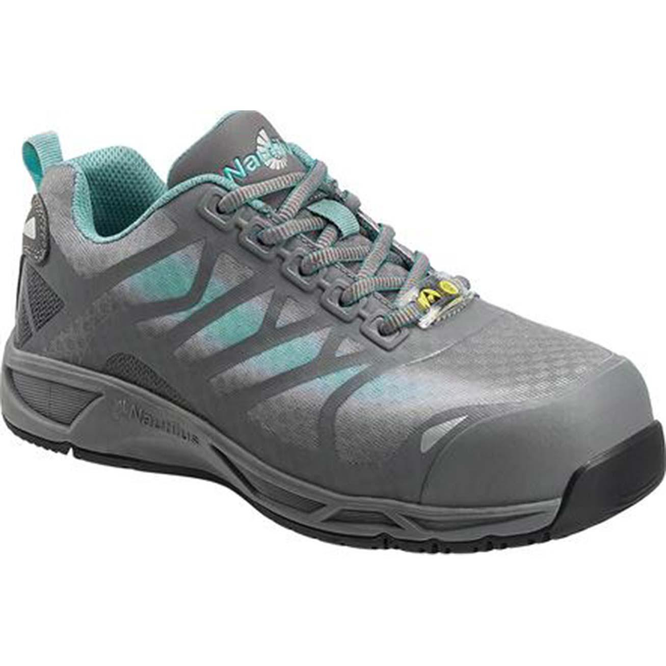45cd8c78ee2 Nautilus Advanced ESD Women's Carbon Fiber Toe Static-Dissipative Work  Athletic Shoe