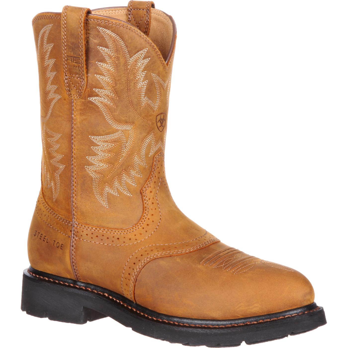 Ariat Sierra Saddle Steel Toe Western Work Boot