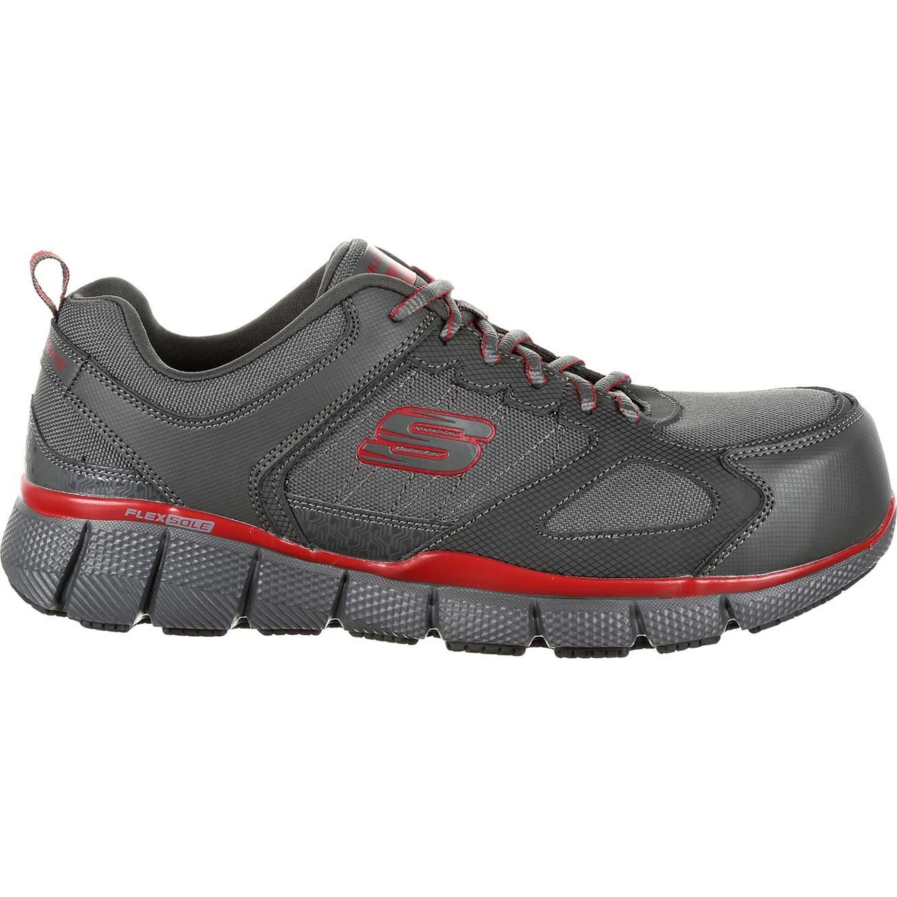 616c0ac5e509 Loading zoom. SKECHERS Telfin Composite Toe Puncture-Resistant  Slip-Resistant ...