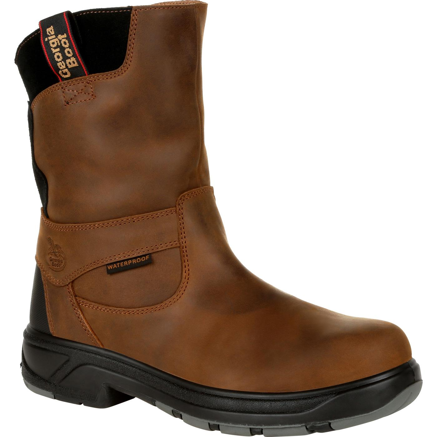 929bc9d1771 Georgia FLXpoint Waterproof Composite Toe Work Boots