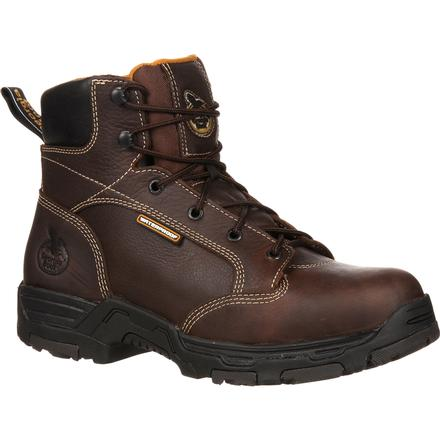 Georgia Boot Diamond Trax Steel Toe Puncture-Resistant Waterproof Work Boot, , large