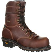 Georgia Boot AMP LT Logger Waterproof Work Boot, , medium