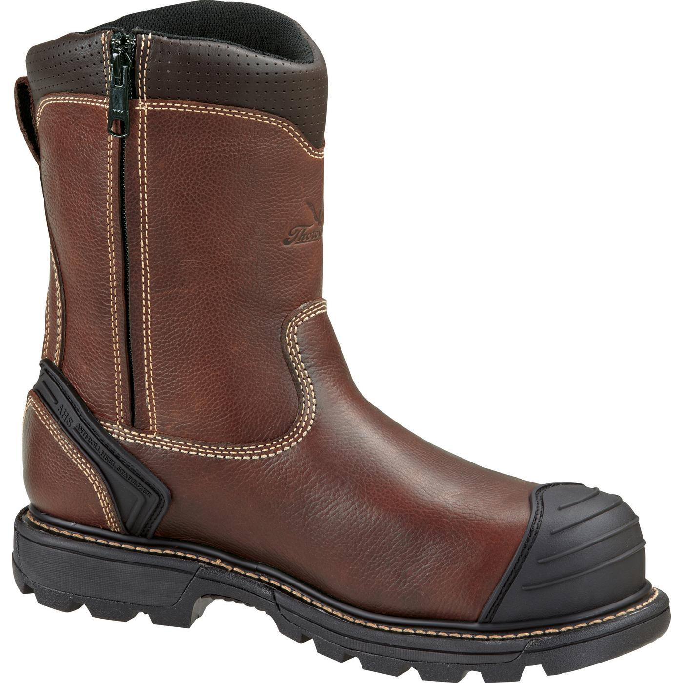 Thorogood Composite Toe Side Zipper Wellington Work Boot, #804-4440