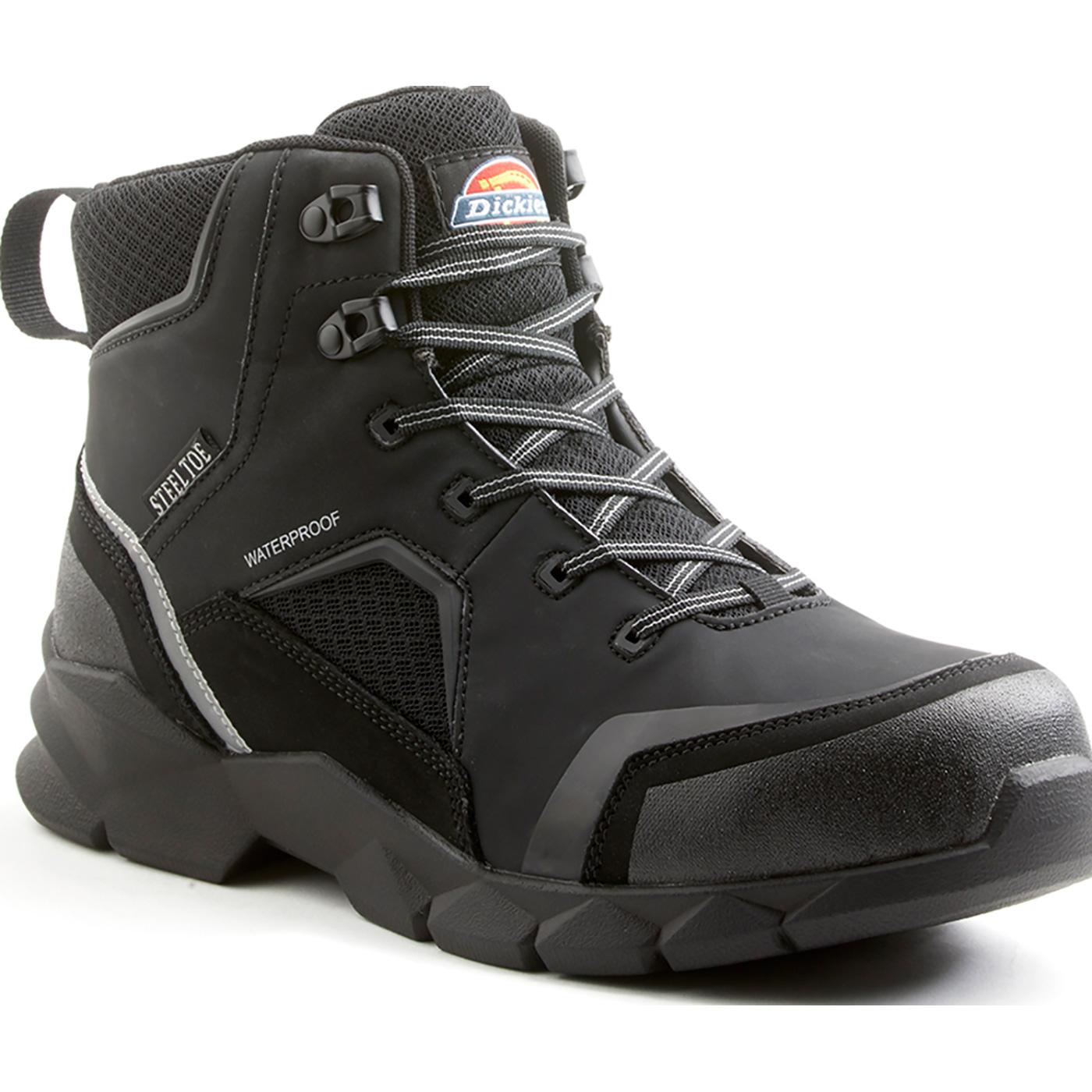 6060e4a5a61 Dickies Corvus Men's 6 inch Steel Toe Electrical Hazard Waterproof Work  Hiker