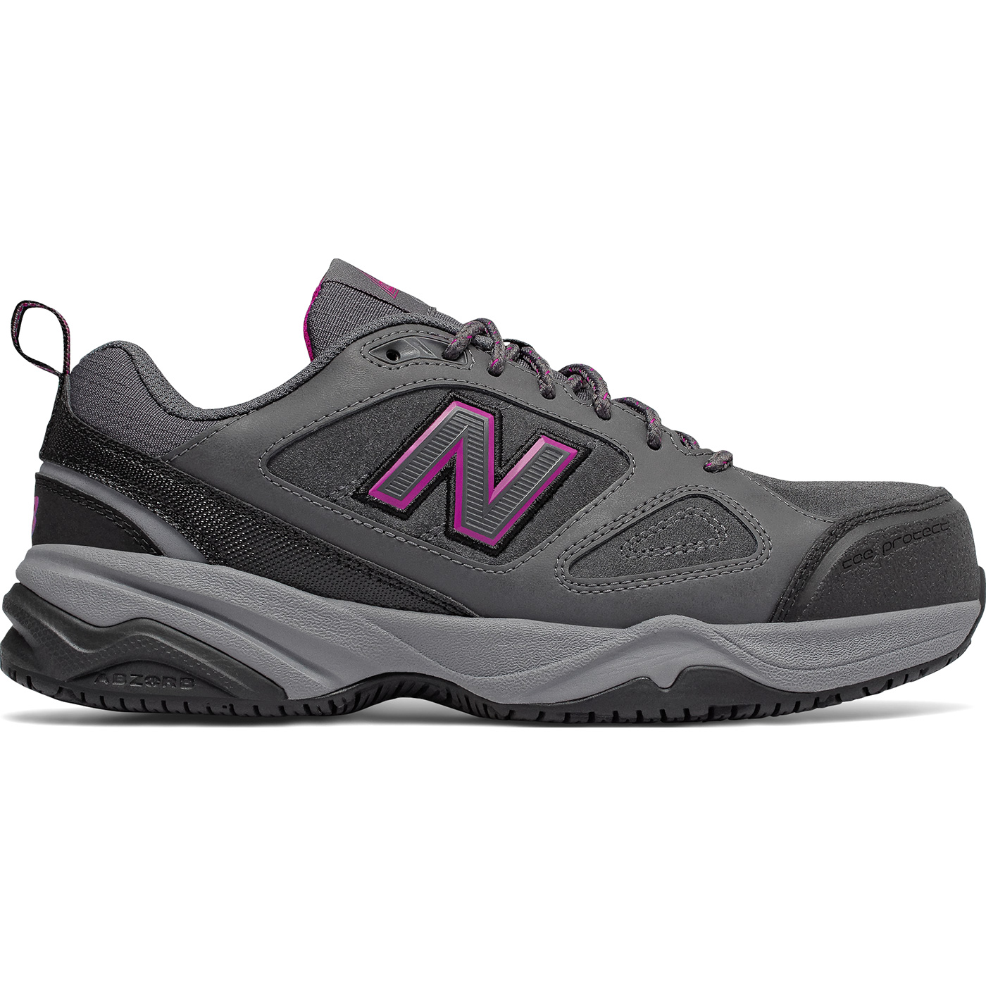 3c5133bc21c26a New Balance 627v2 Women s Steel Toe Slip Resistant Static Dissipative  Leather Athletic Work ShoeNew Balance 627v2 Women s Steel Toe Slip  Resistant Static ...