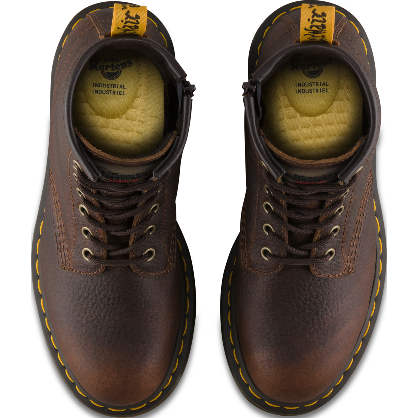 454d74250d1 Dr. Martens Icon Maple Zip Women's Steel Toe Electrical Hazard Work Boot