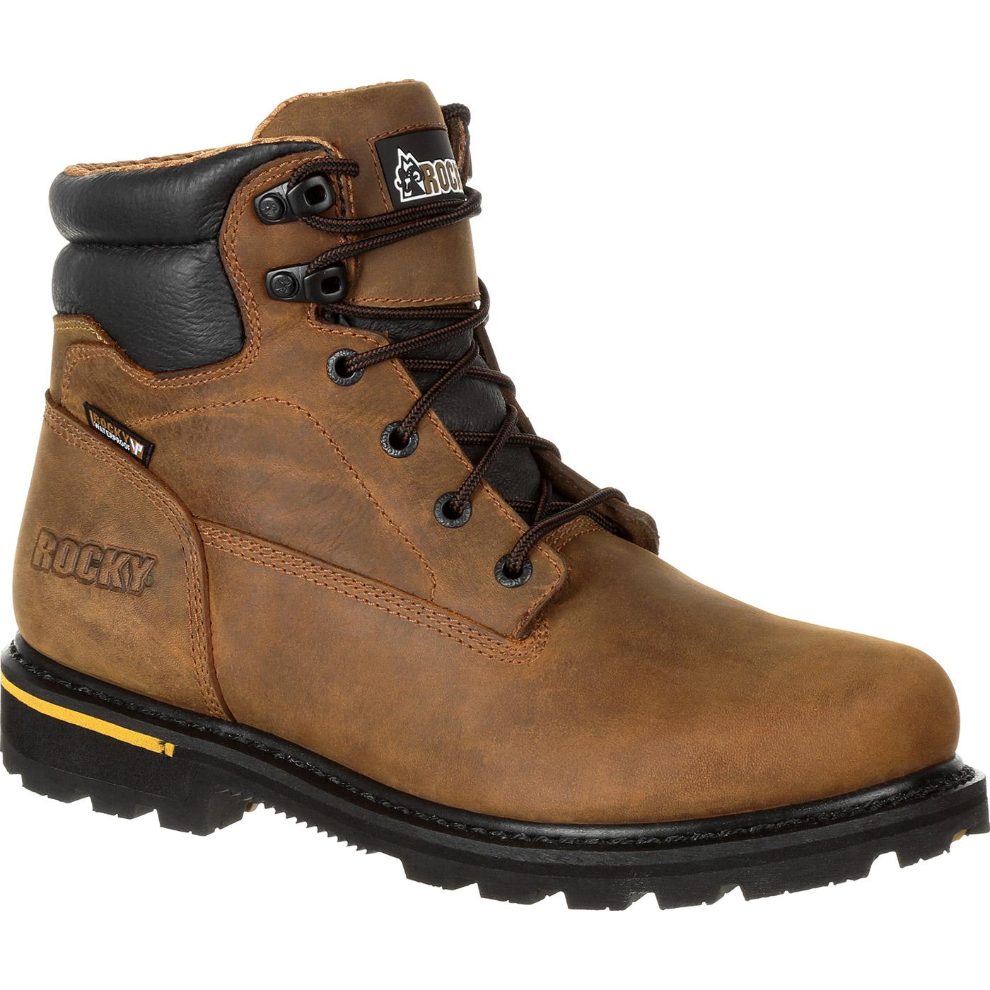 67c6efac25b Rocky Governor Composite Toe Waterproof 6 Inch Work Boot