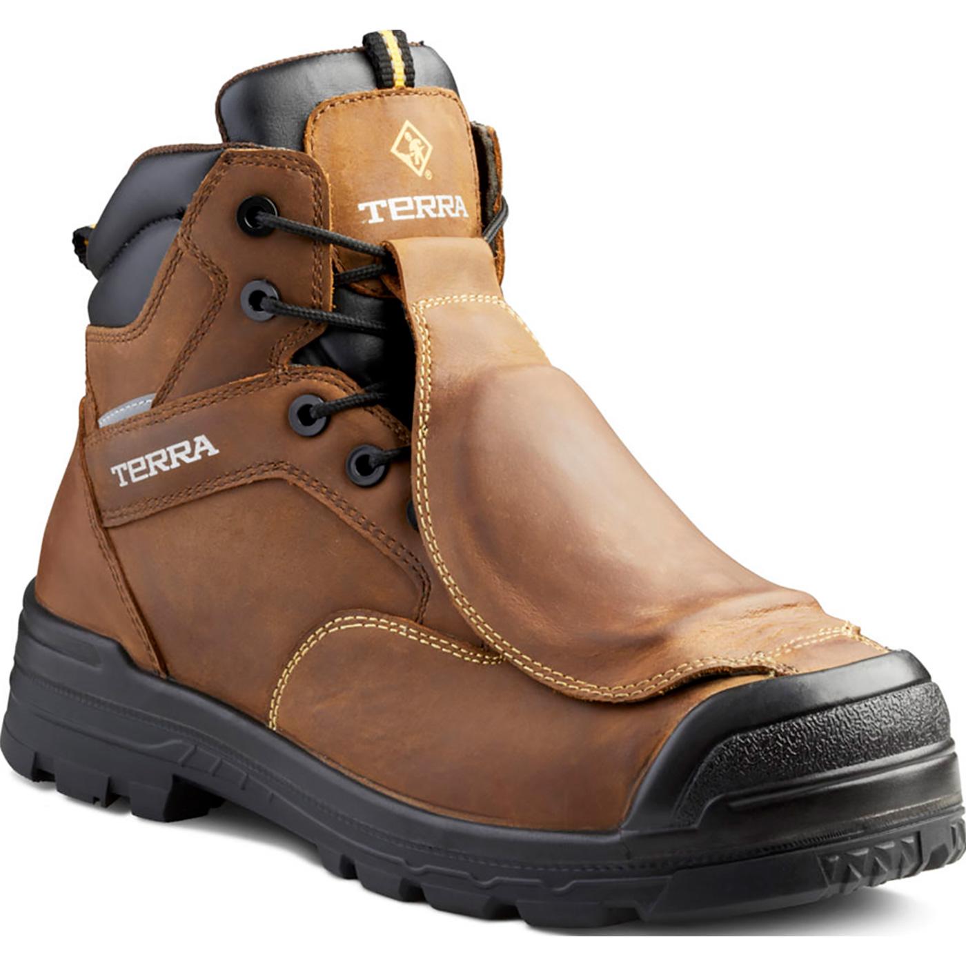 52c3efbaa93 Terra Barricade Men's 6 inch CSA-Approved Met Guard Composite Toe  Puncture-Resistant Waterproof Insulated Work Boot