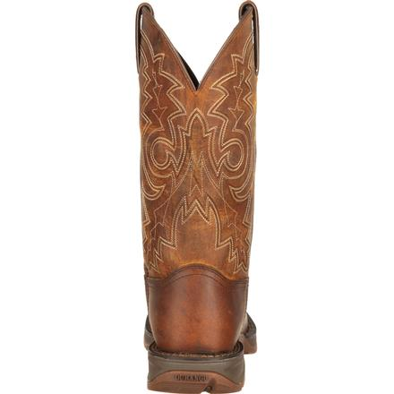 Rebel™ by Durango® Steel Toe Pull-On Western Boot, , large