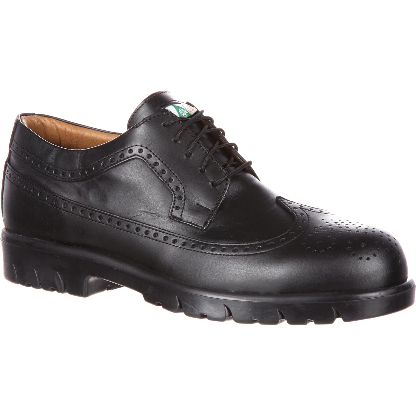 Dress Shoe With Steel Tip