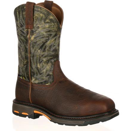 8b3e738b8f3 Ariat WorkHog Composite Toe Internal Met Guard Western Work Boot