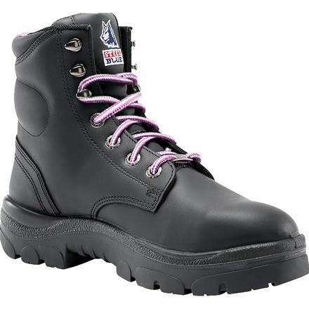 7b404c46a2d Steel Blue Argyle Women's 6 inch Steel Toe Leather Work Boot