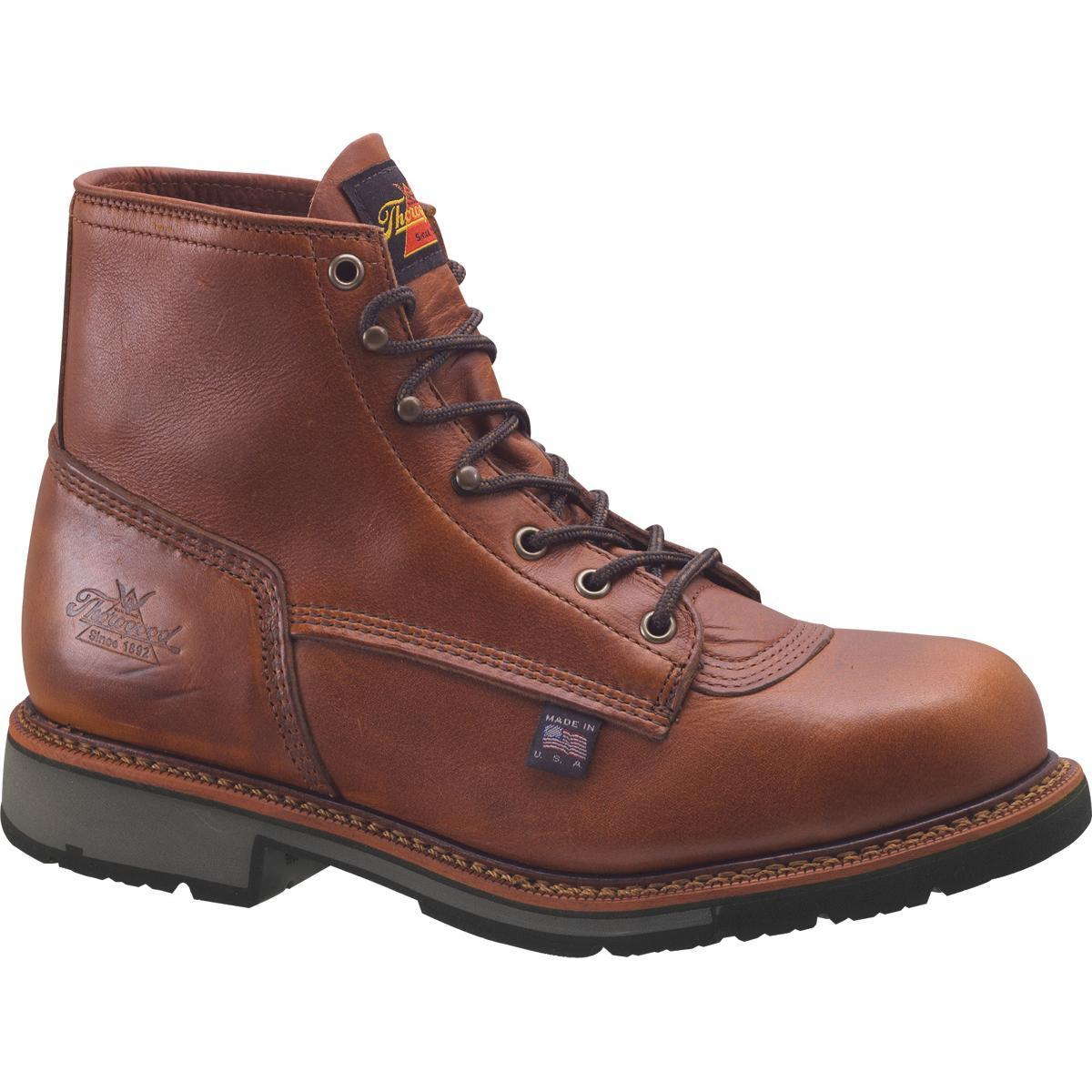 b22d50a8c1a Thorogood American Heritage Steel Toe Electrical Hazard Work Boots ...