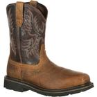 Ariat Sierra Wide Square Toe Steel Toe Puncture-Resistant Western Work Boot, , medium