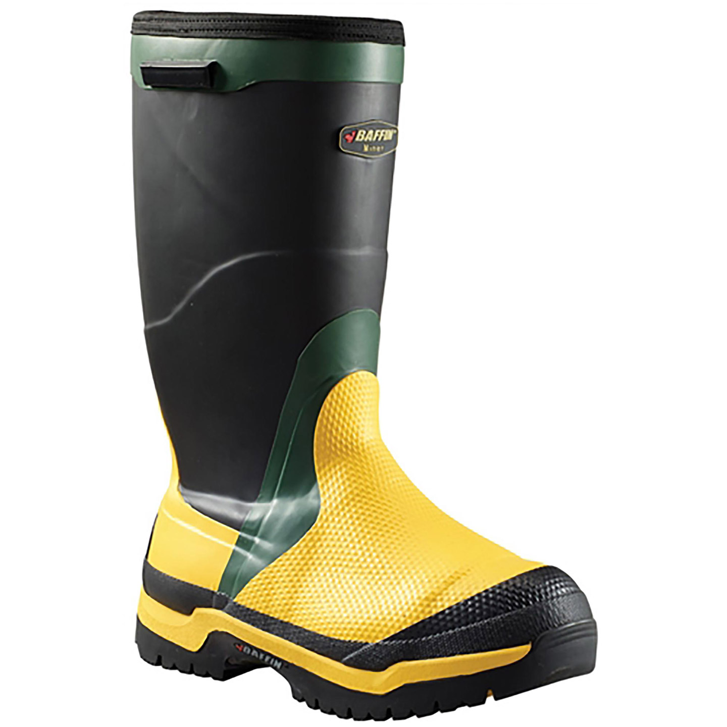 8e4ddf69991 Baffin Miner CSA-Approved 16 inch Steel Toe Internal Met Guard  Puncture-Resistant Waterproof Insulated Work Boot