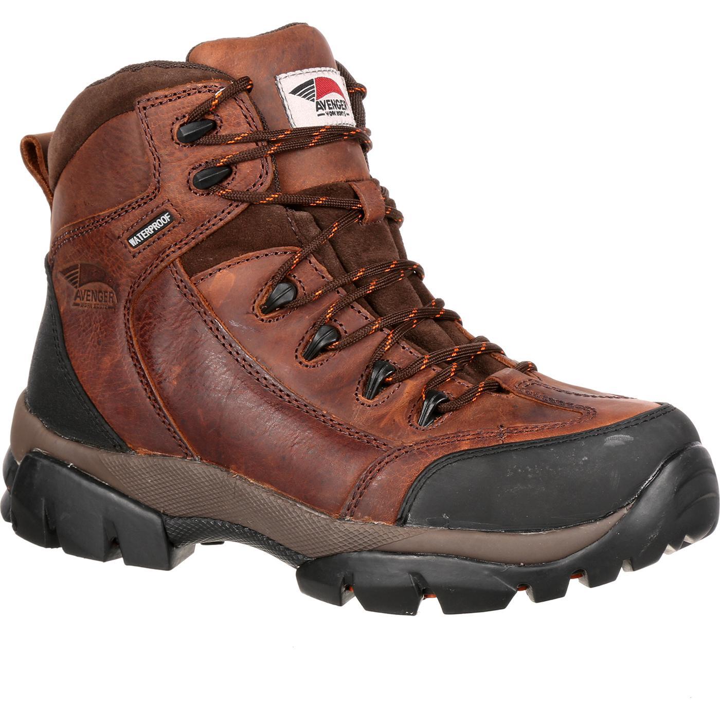 4299d4df5a4 Avenger Composite Toe Waterproof Work Hiker