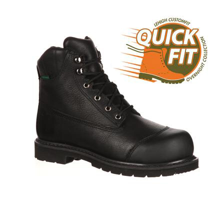 QuickFit Collection: Lehigh Safety Shoes Unisex Steel Toe Waterproof 200g Insulated Work Boot, , large