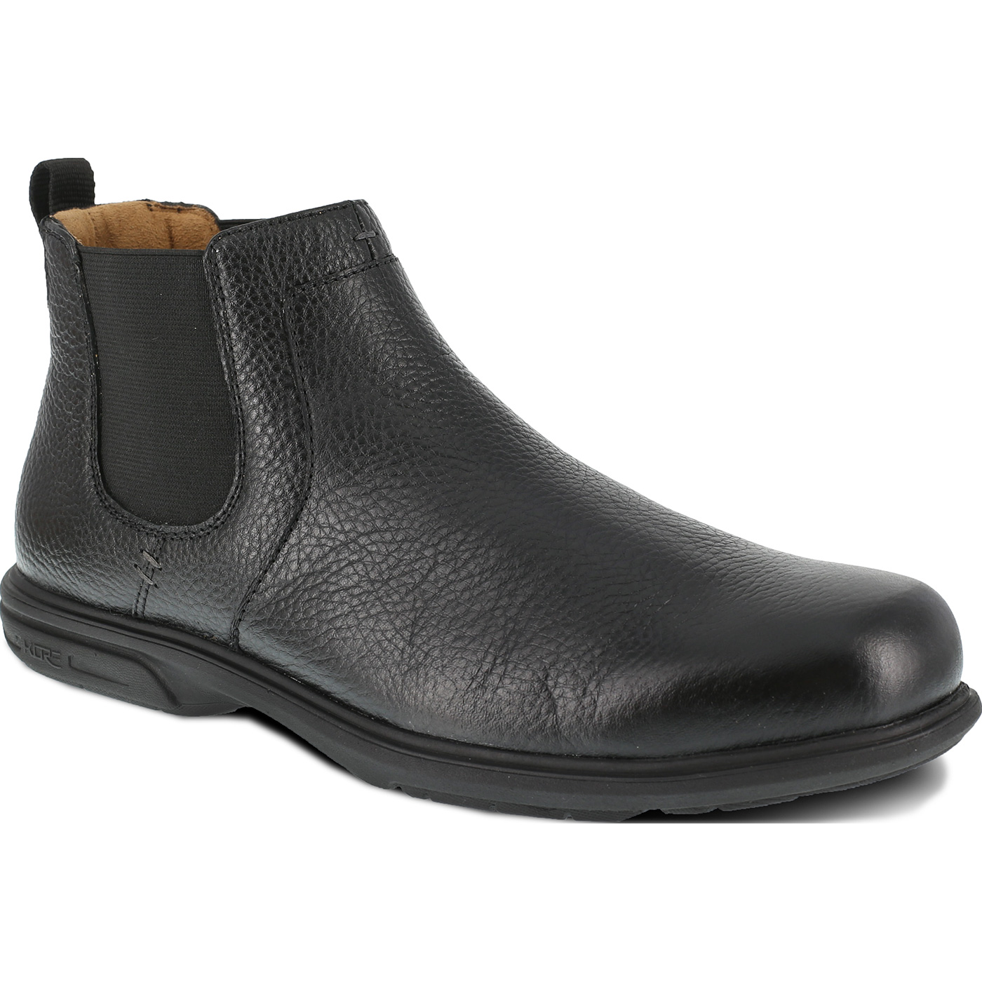 5bdfbcfbdf7 Florsheim Work Loedin Men's Steel Toe Static-Dissipative Black Romeo Work  Boot