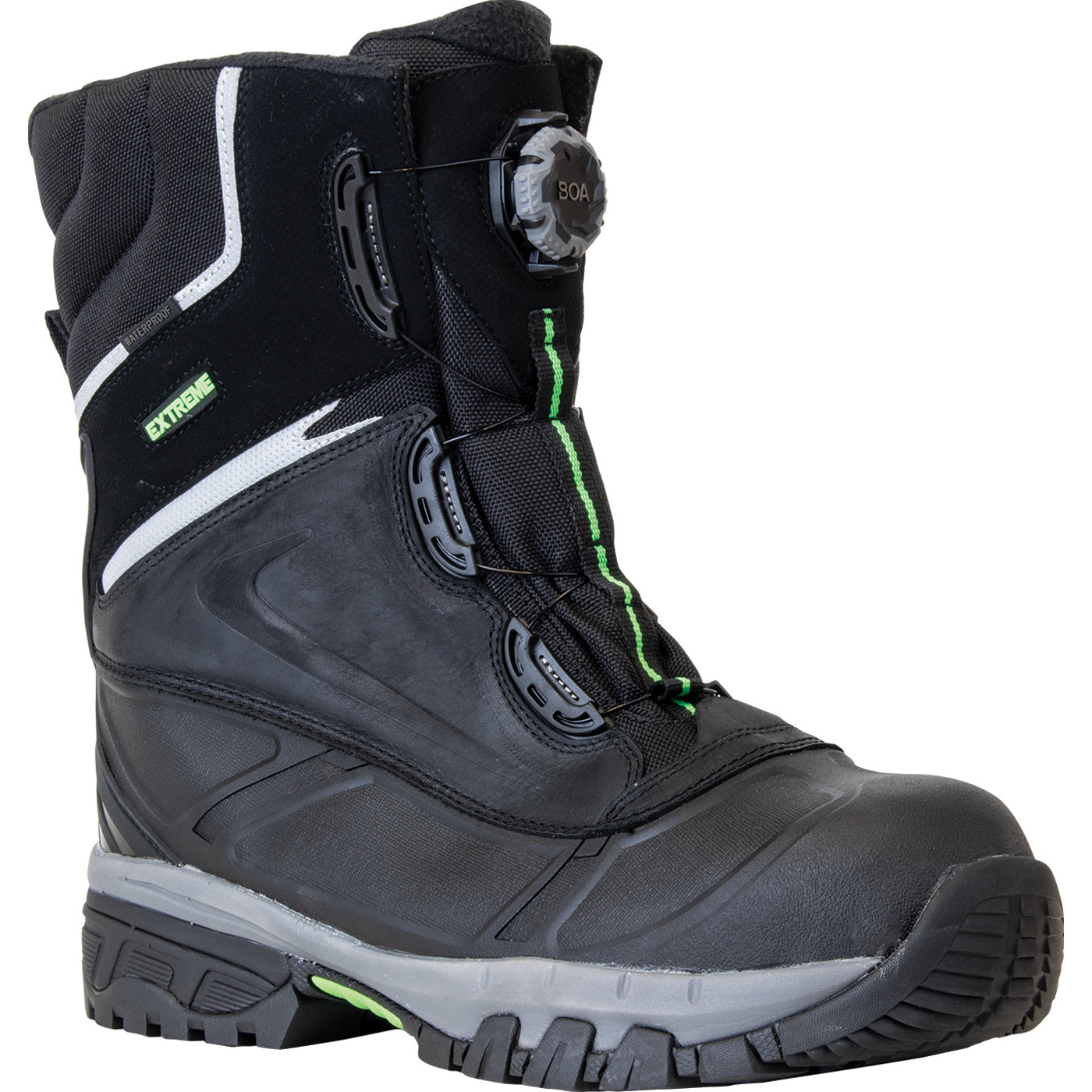 1da668f23f9 RefrigiWear Extreme Pac Men's 9 inch Composite Toe 600G Insulated  Waterproof Slip-Resistant Work Boot