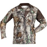 Rocky SilentHunter 1/4 Zip Shirt, Realtree AP, medium