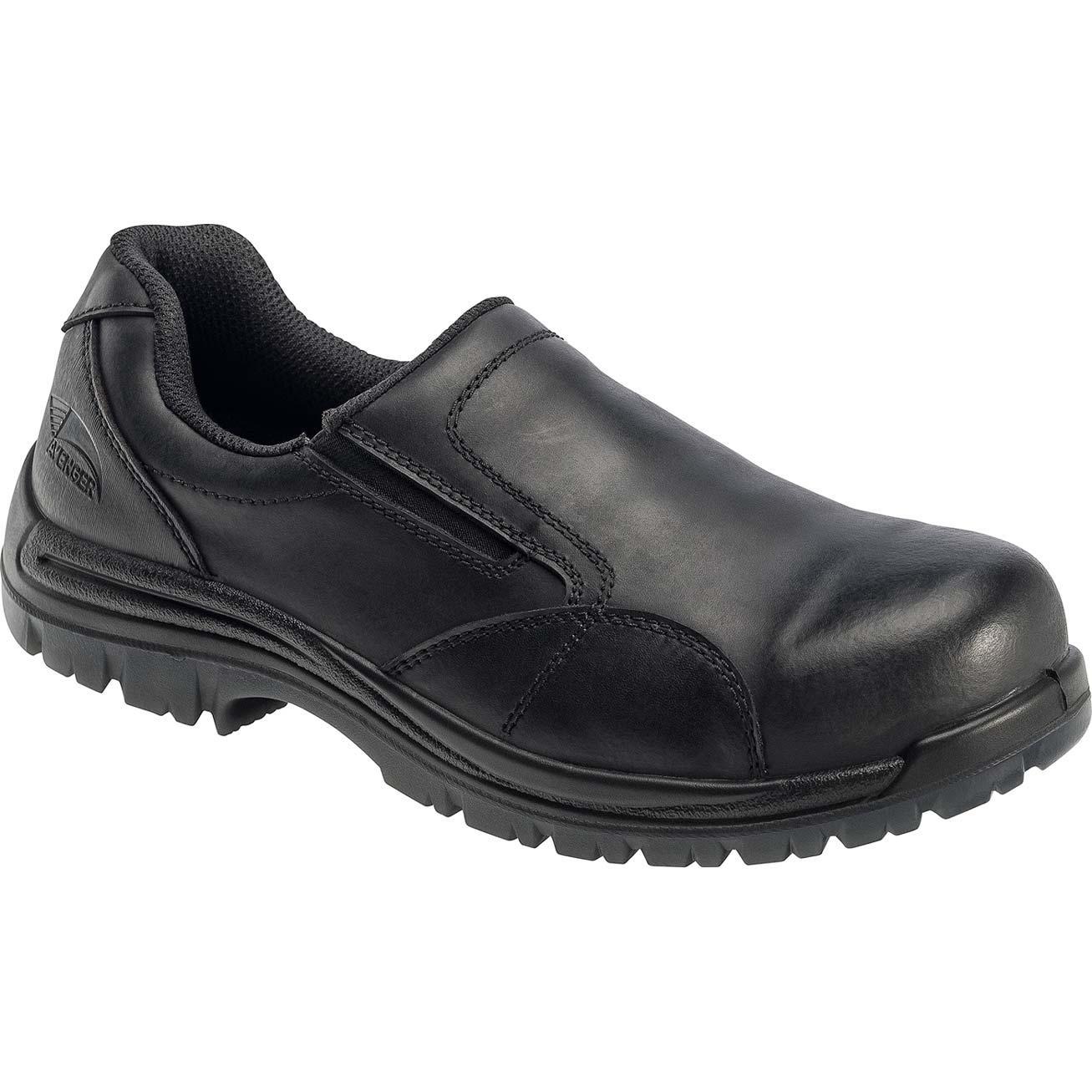 avenger composite toe work slip on shoe a7107. Black Bedroom Furniture Sets. Home Design Ideas