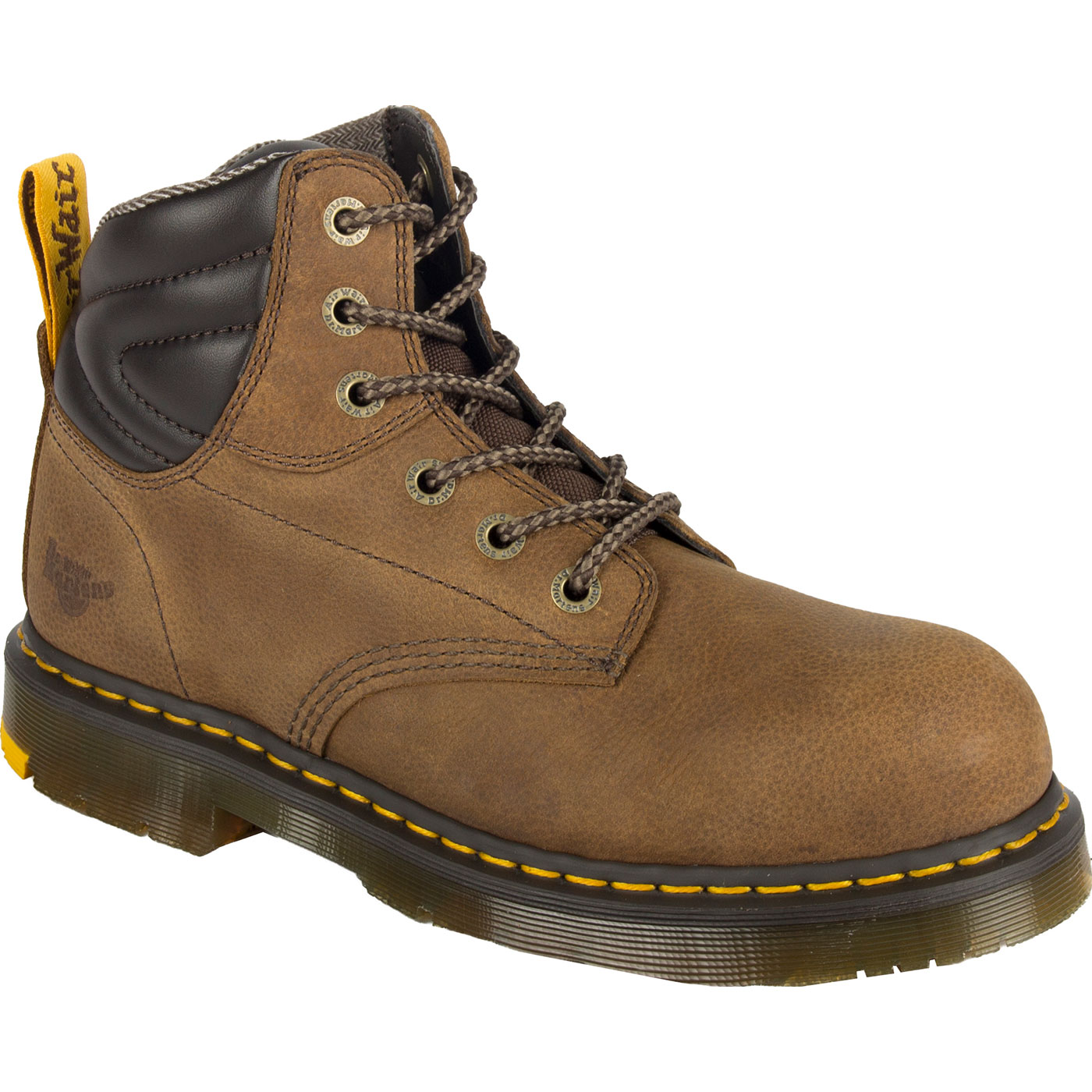 79734140a99 Dr. Martens Hynine Men's 6 inch Steel Toe Electrical Hazard Work Boots