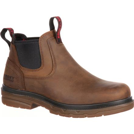 Rocky Elements Shale Steel Toe Waterproof Romeo Work Boot, , large