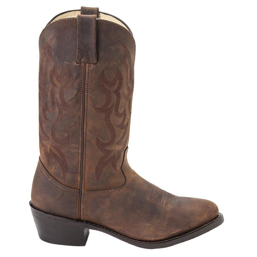 Men S 12 Quot Tan Leather Western Boots Durango Style Db922