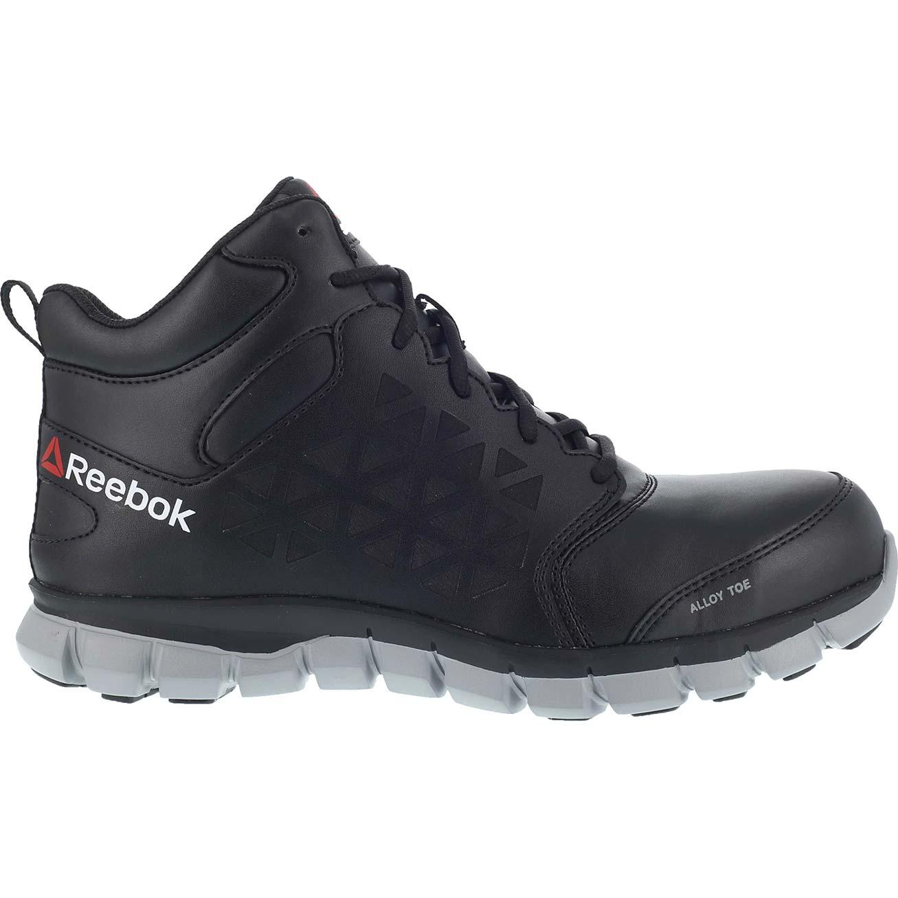 819134a16b2 Loading zoom. Reebok Sublite Cushion Work Alloy Toe Internal Met Guard Work  Athletic Shoe