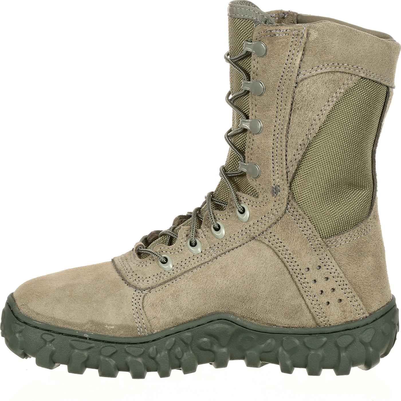 Sage Green Rocky S2V Military Boot 312e012347bd