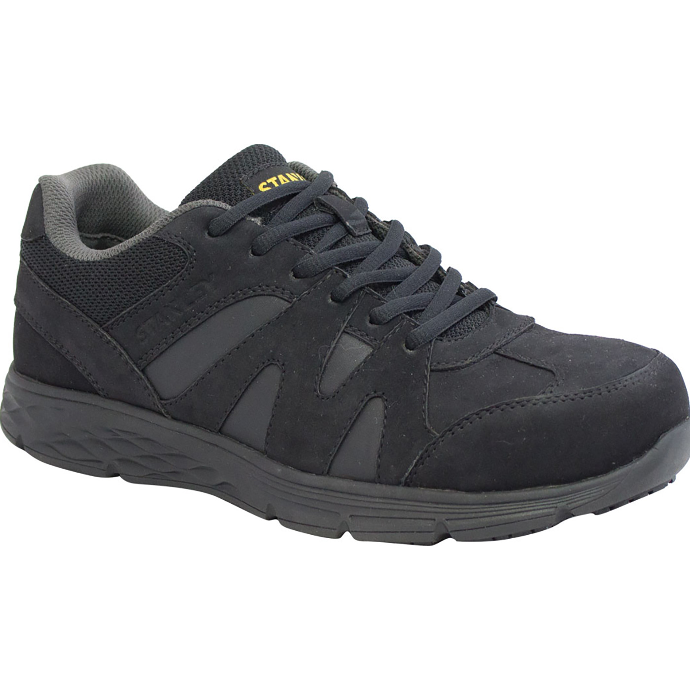 ae4cba02750b Stanley Stride Men s Slip Resistant Aluminum Toe Electrical Hazard Athletic  Work Shoes