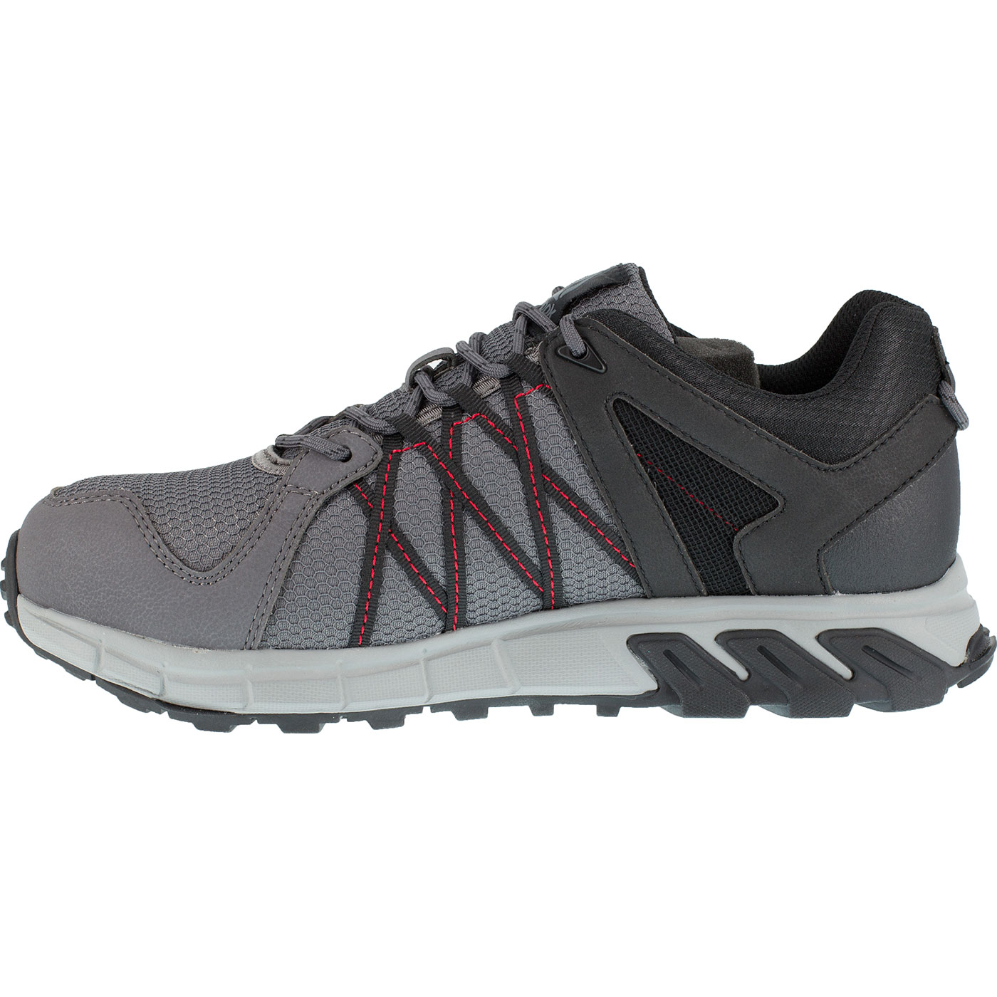104755915cd Loading zoom. Reebok Trailgrip Work Men s Alloy Toe Electrical Hazard  Athletic Shoe