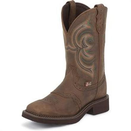 Justin Stampede Women's Pull-On Western Boot