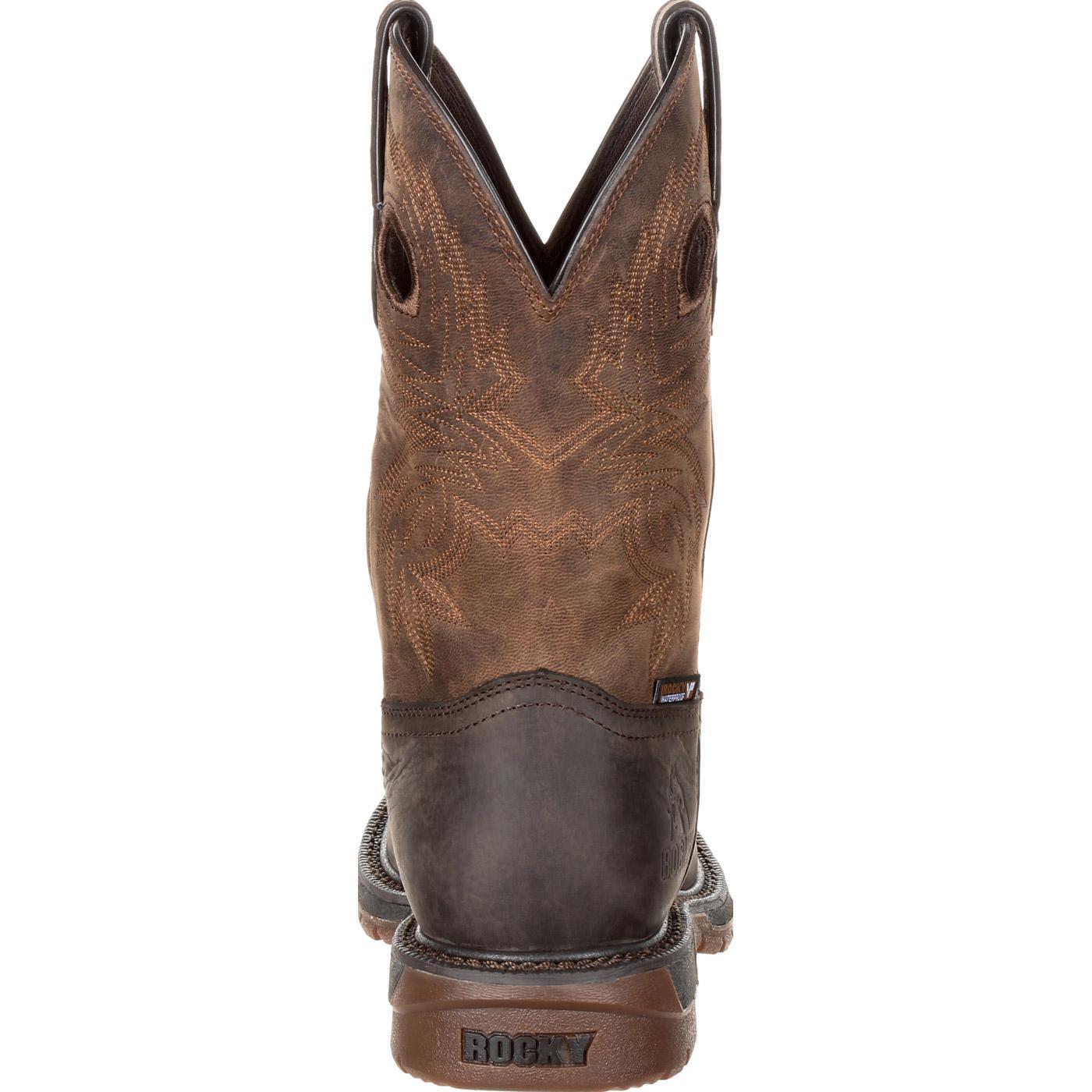 9c764695223 Rocky Original Ride FLX Waterproof Western Boot