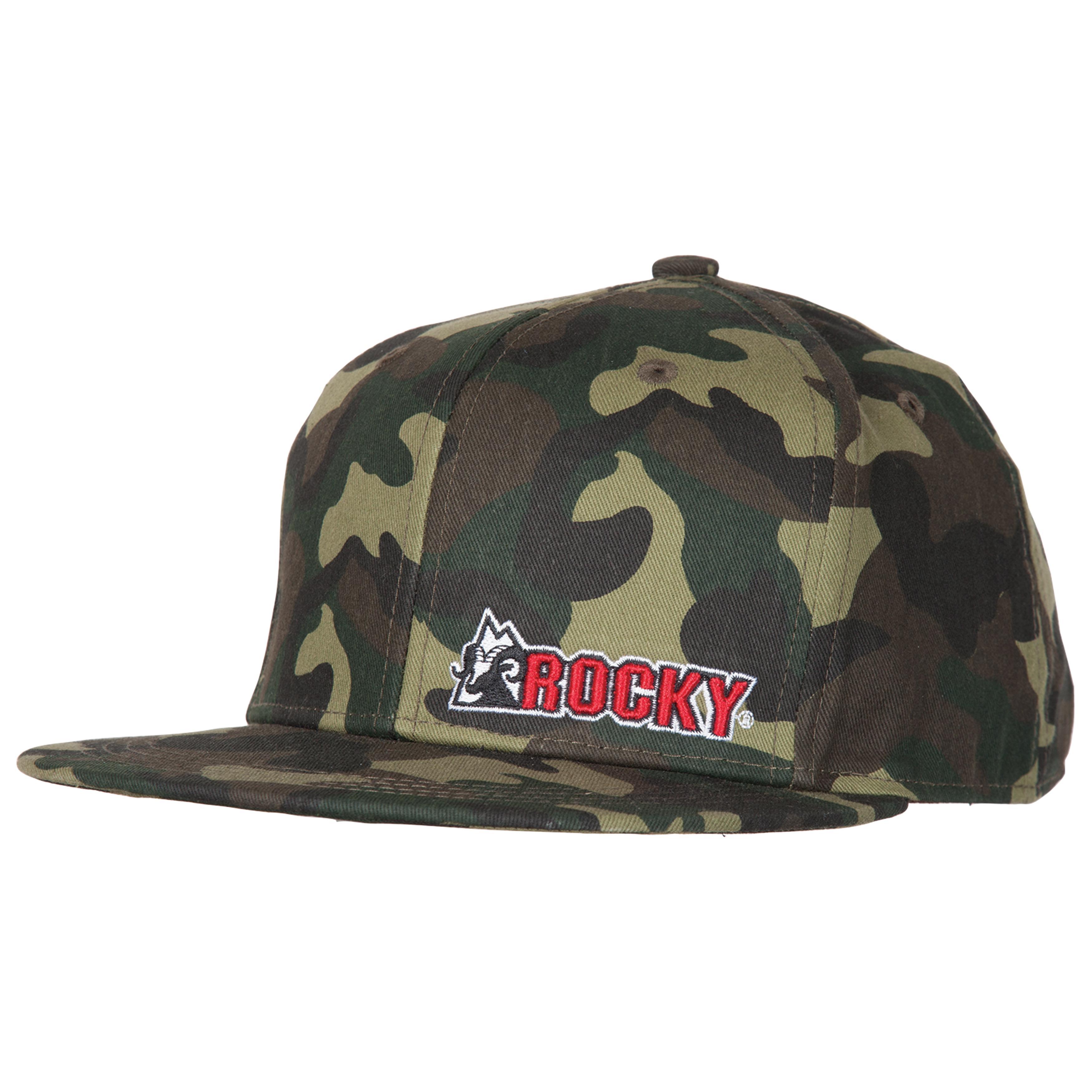 Men s Camouflage Flat Bill Cap 8e12477e9eb